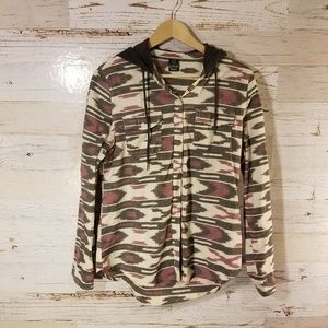 Empyre full button down top
